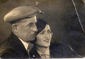 Moisey and Shifra Shklyanoy. Kiev.