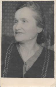 Shifra Zhivotovskaya. Kiev. Abt. 1950.